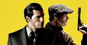 Henry Cavill and Armie Hammer as Solo and Kuryakin