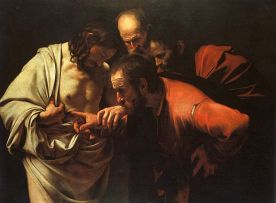 Caravaggio's The Incredulity of Saint Thomas
